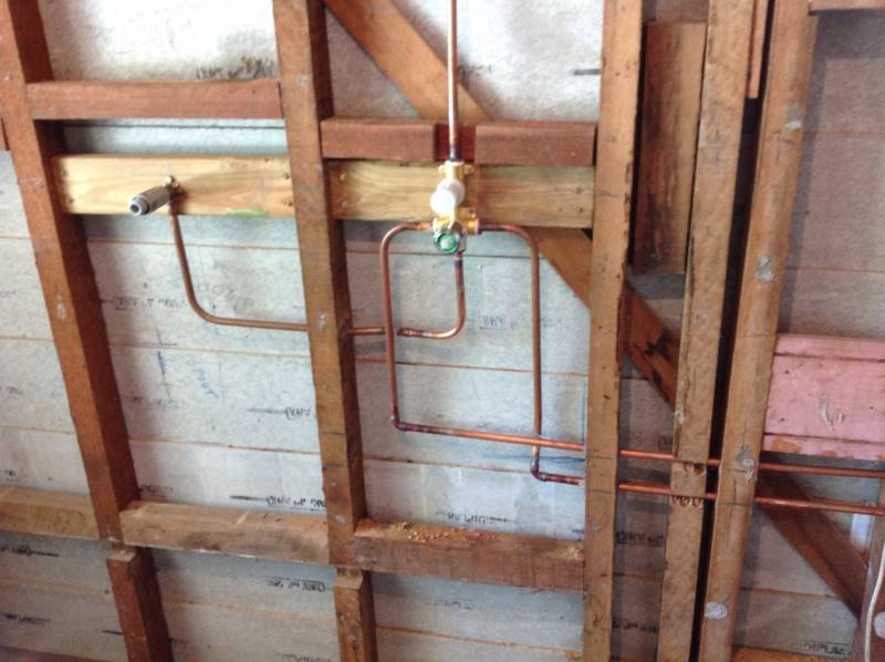 Quality Reno with copper water pipes
