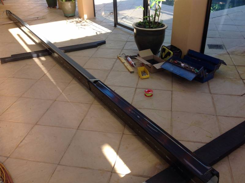 Replacing gutter and down pipes