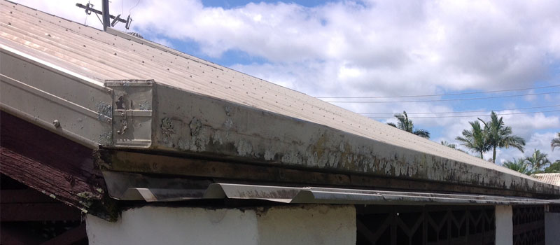 Old Guttering and Fascia