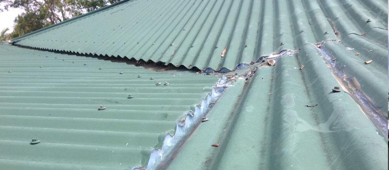 Damaged Roof Sheets